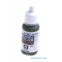 Model Color 17ml. 093-Brown Violet