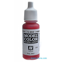 Model Color 17ml. 030-Carmine red