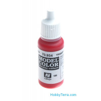 Model Color 17ml. 186-Transparent red