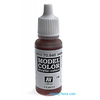 Model Color 17ml. 138-Saddle Brown