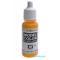 Model Color 17ml. 015-Flat yellow