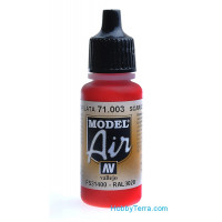 Model Air 17ml. 003-Scarlet red