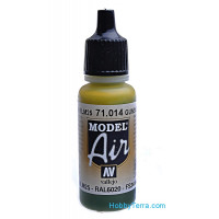 Model Air 17ml. 014-Gunship green