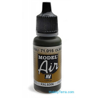 Model Air 17ml. 015-Olive grey