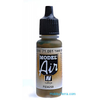 Model Air 17ml. Tank Dark Yellow
