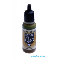 Model Air 17ml. 116-Camouflage grey green RAL7008