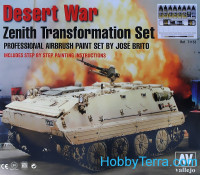 "Model Air Set ""Desert war Transformation"""
