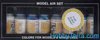 "Model Air Set ""US Aircraft"", 8pcs"