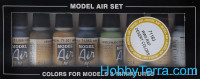 "Model Air Set ""WWII RAF Desert"" , 8pcs"