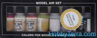 "Model Air Set ""RLM 3"", 8pcs"