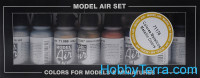"Model Air Set ""Metallic Colors"", 8pcs"
