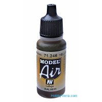 Model Air 17ml. Yellow brown