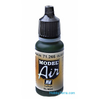 Model Air 17ml. Olive green RLM80