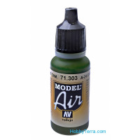 Model Air 17ml. A-24M Camouflage green