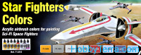 Model Air Set. Star Fighters Colors, 8 pcs