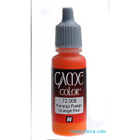 Game Color 17ml. 008-Orange fire