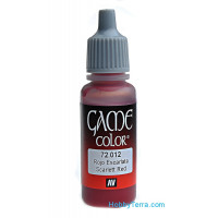 Game Color 17ml. 012-Scarlet red