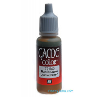 Game Color 17ml. 040-Leather brown