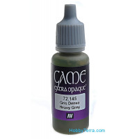 Game Extra Opaque 17ml. 145-Heavy grey
