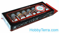 "Game Color Set ""Metallic colors"", 8x17ml"