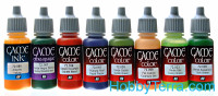 Game Color Set. Orcs & Goblins (by Angel Giraldez) 8x17ml