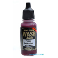 Model Wash 17ml. Red