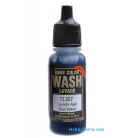 Model Wash 17ml. Blue