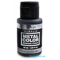 Metal Color 32ml. Steel