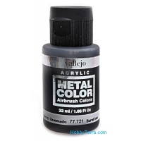 Metal Color 32ml. Burnt iron