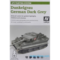 AFV Dunkelgrau armour 6*8ml