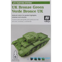 AFV UK Bronze green 6x8ml