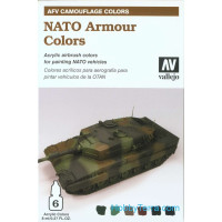 NATO Armour colors, 6x8ml