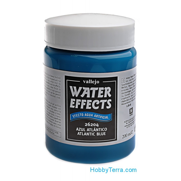 Water Effects 200ml. 204-Atlantic blue