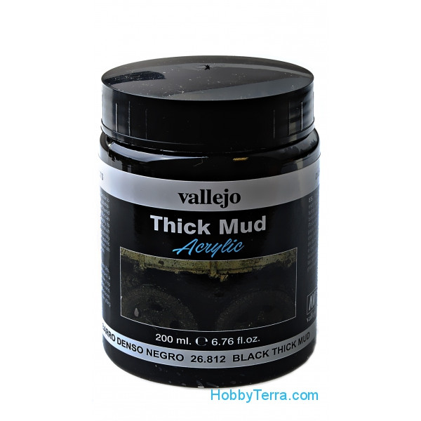 Black thick mud, 200ml