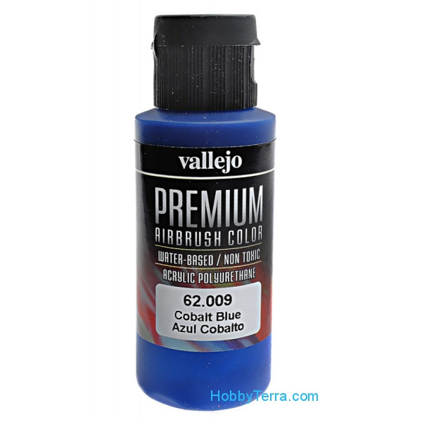 Premium Color 60ml. Cobalt Blue