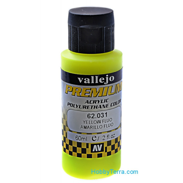 Premium Color 60ml. Yellow fluo