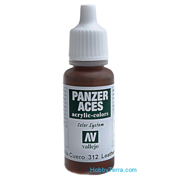 Panzer Aces 17ml. Leather belt