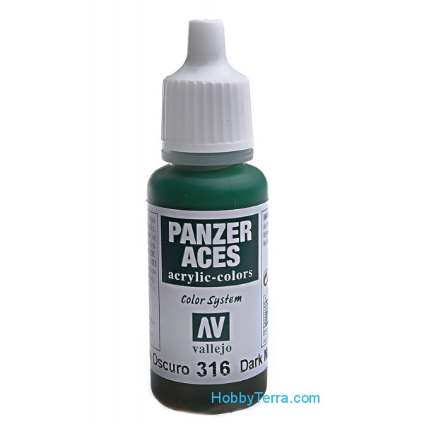 Panzer Aces 17ml. Dark Mud