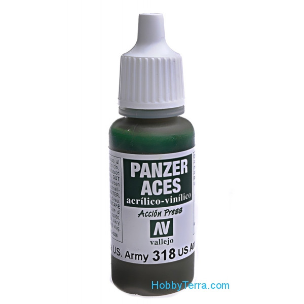 Panzer Aces 17ml. US Army tank crew