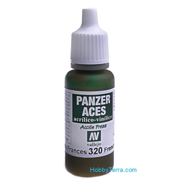 Panzer Aces 17ml. French tank crew
