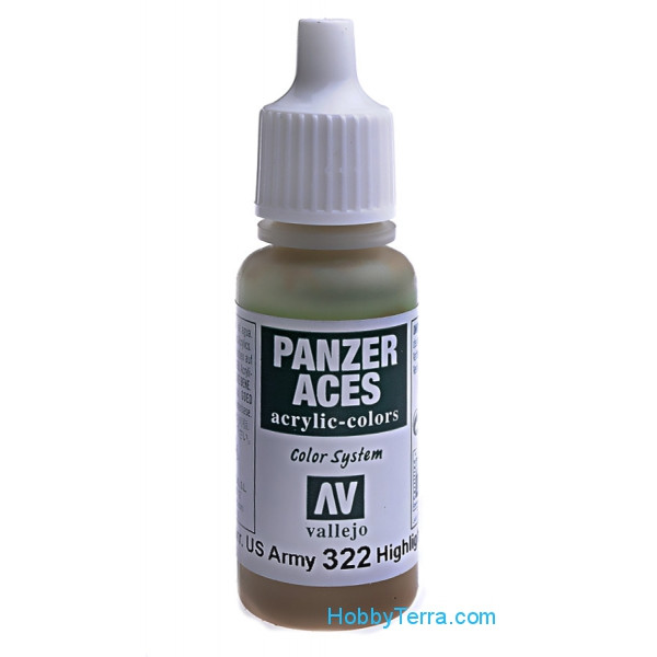 Panzer Aces 17ml. Highlight US tank crew