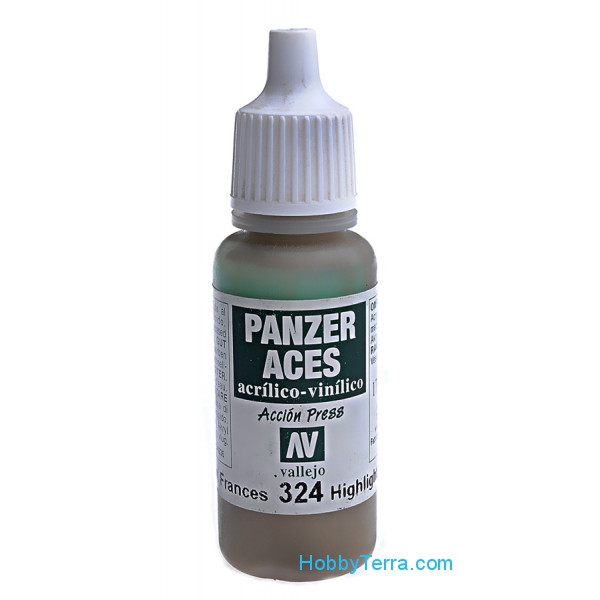 Panzer Aces 17ml. Highlight French tank crew