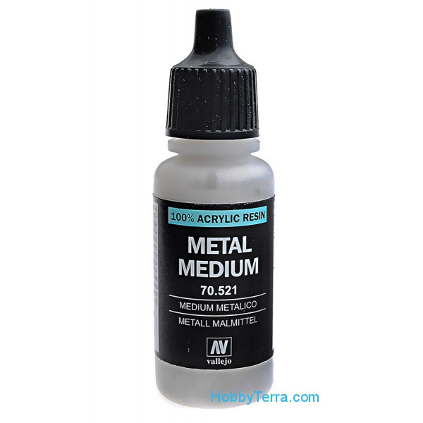 Model Color 521-17ml, Metal Medium