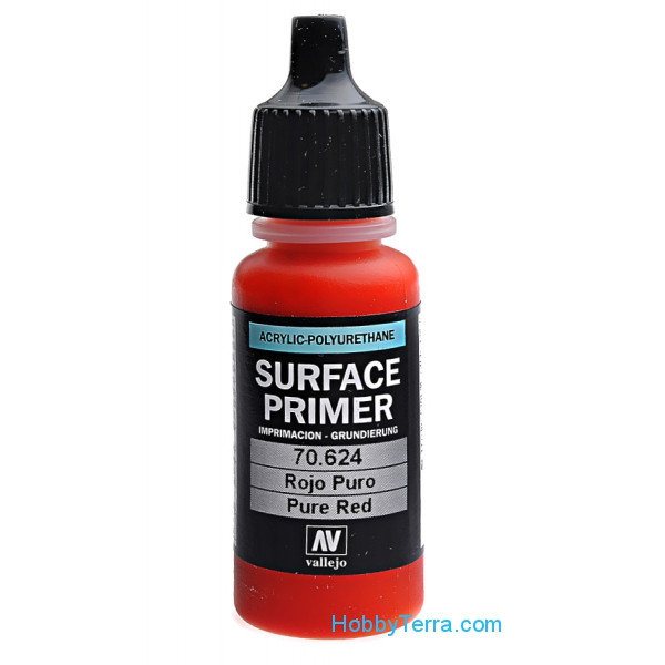 Vallejo  70624 Pure red Primer, 17 ml