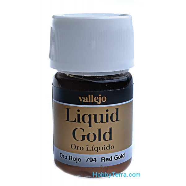 Metallic Model Color 35ml. Red Gold (alcohol based)