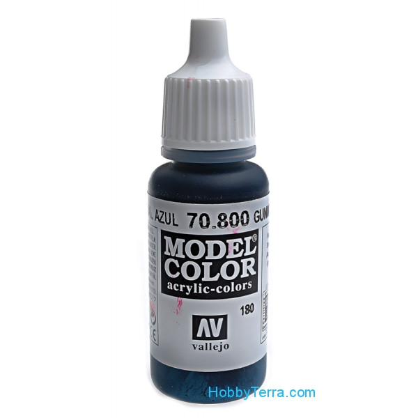 Vallejo  70800 Model Color 17ml. 180-Gunmetal Blue