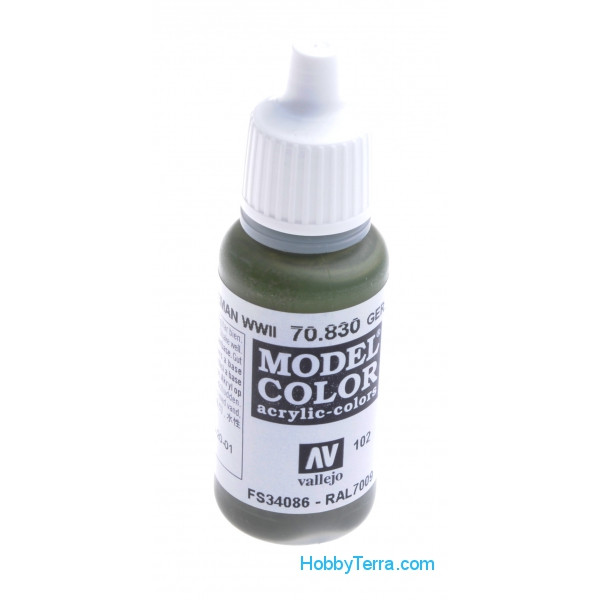 Model Color 17ml. 102-WWII German fieldgrey