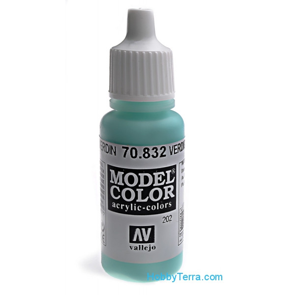 Vallejo  70832 Model Color 17ml. 202-Verdin glaze