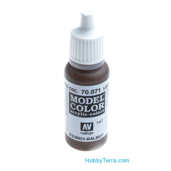 Model Color 17ml. 147-Leather brown
