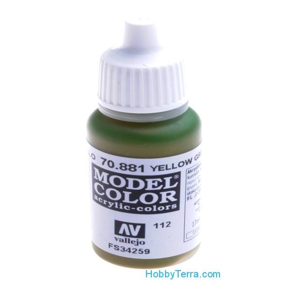 Vallejo  70881 Model Color 17ml. 112-Yellow green